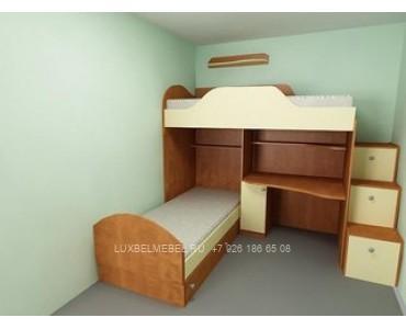 Детская кровать из ДСП 1483