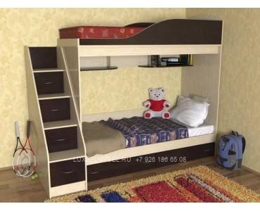 Детская кровать из ДСП 1485