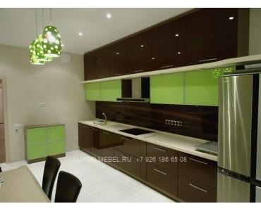 Кухня из пластика 1081