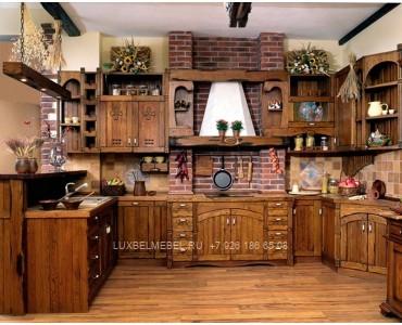 Кухня из массива 1573