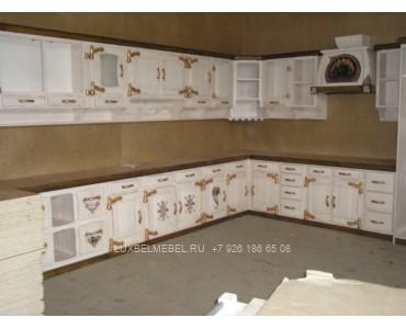 Кухня из массива 0943