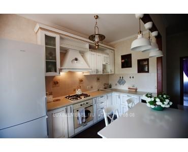 Кухня из массива классика модель 014
