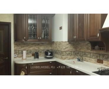 Кухня из массива классика модель 012