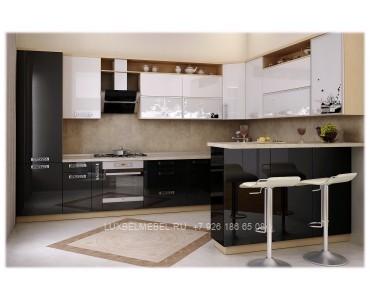 Кухня из пластика модель 031