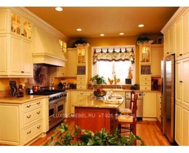Кухня из массива в стиле прованс модель 034