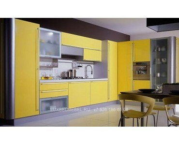 Кухня в стиле хай-тек модель 040