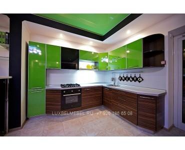 Кухня в стиле хай-тек модель 042