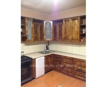 Кухня из массива 0756
