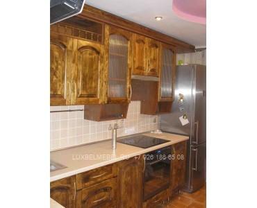 Кухня из массива 0982