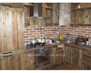 Кухня из массива 1004