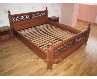 Кровать из массива 1386