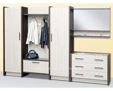 Комплект мебели для прихожей из дсп 1543