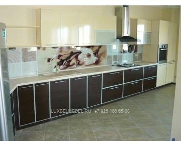 Кухня с фасадами из дсп модель 1608