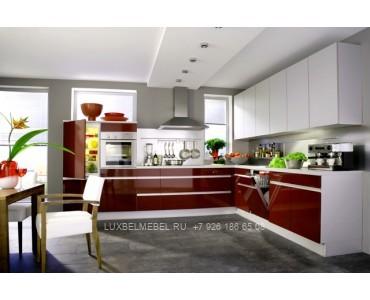 Кухня в стиле хай-тек модель 041