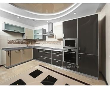 Кухня в стиле хай-тек модель 044