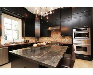 Кухня в стиле хай-тек модель 043