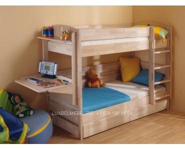 Детская кровать из массива модель 2901