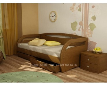 Детская кровать из массива модель 2905