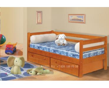 Детская кровать из массива модель 2906