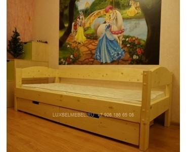 Детская кровать из массива модель 2907