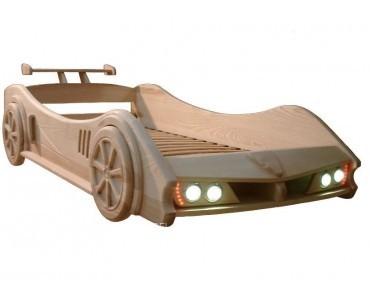 """Детская кровать из массива """"Автомобиль"""""""
