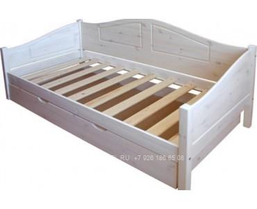 Детская кровать из массива модель 2912