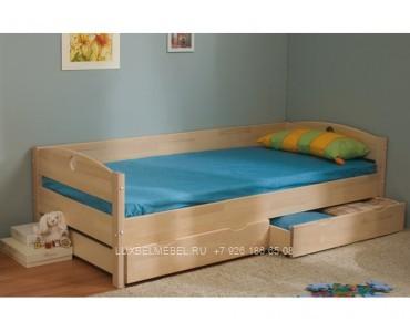 Детская кровать из массива модель 2917