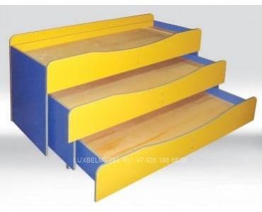 Детская кровать из дсп модель 302