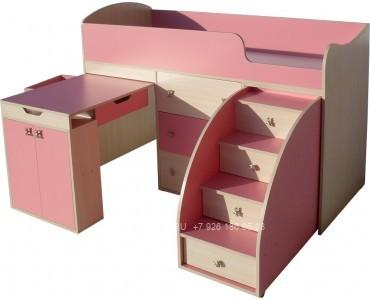 Детская кровать из дсп модель 303