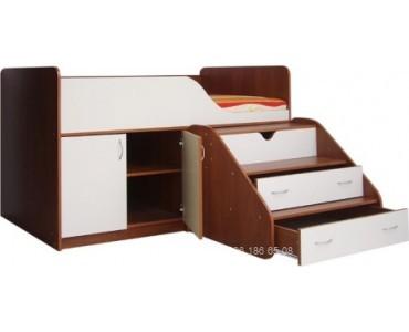 Детская кровать из дсп модель 304