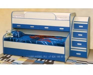 Детская кровать из дсп модель 308
