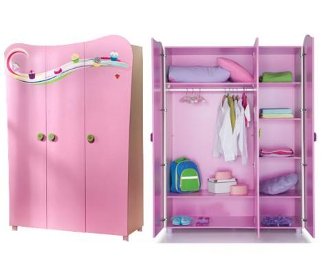 Распашной шкаф для детской из дсп модель 1107