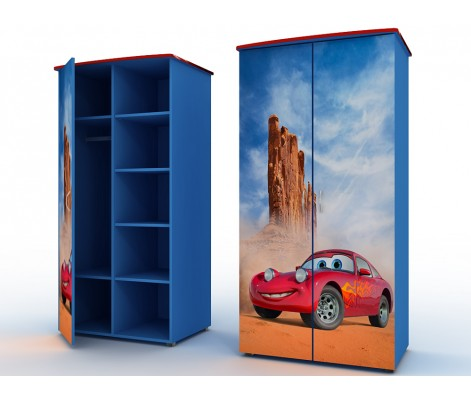 Распашной шкаф для детской из массива модель 779977