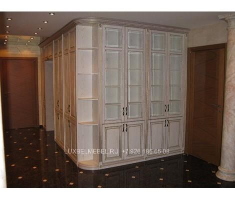 Распашной шкаф из массива 1450