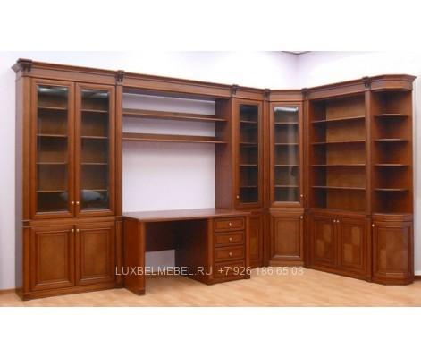 Библиотека и стол из массива 1451