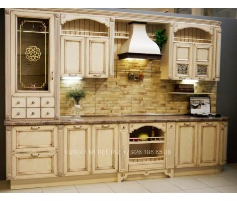 Кухня Кантри из массива 1575
