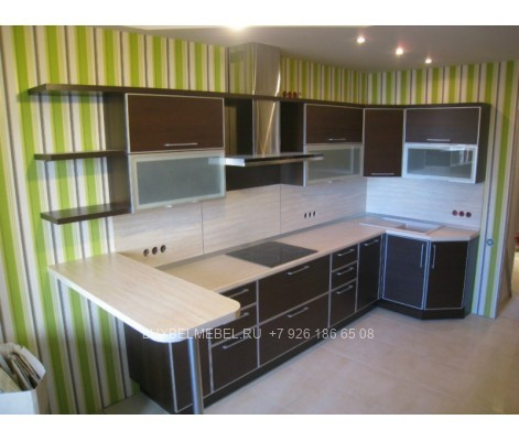 Кухня из пластика 1412