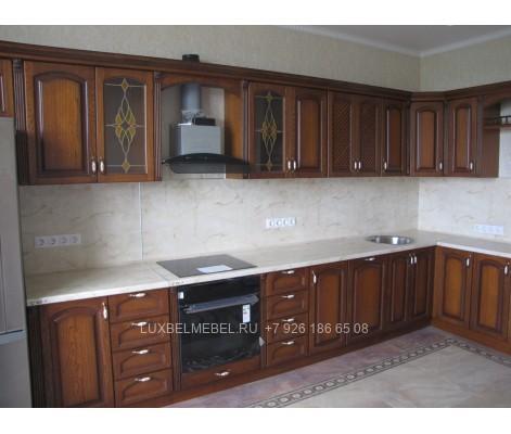 Кухня из массива 0739