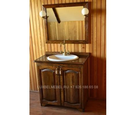 Комплект мебели для ванной из массива 1623