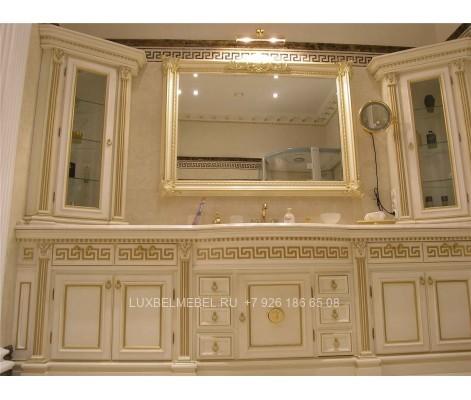 Комплект мебели для ванной из массива 1624