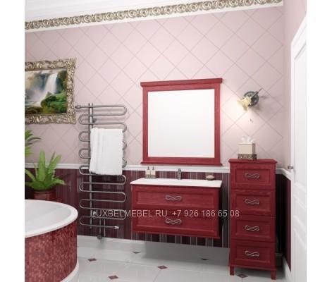 Комплект мебели для ванной из массива 1625
