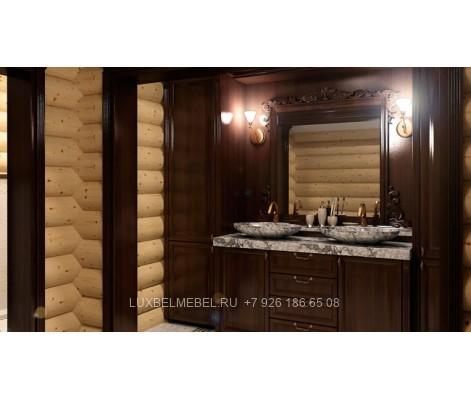 Комплект мебели для ванной из массива 1627