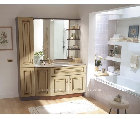 Комплект мебели для ванной из массива 1630