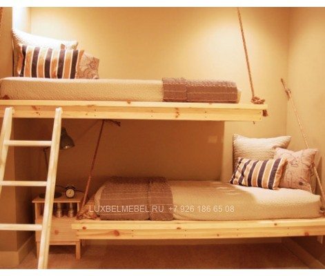 Детская кровать из массива модель 2902