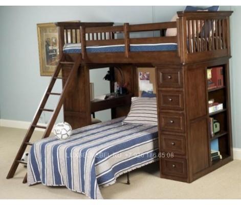 Детская кровать из массива модель  2904