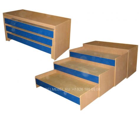 Детская кровать из ДСП модель 297