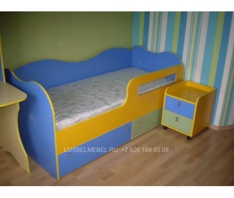Детская кровать из дсп модель 300