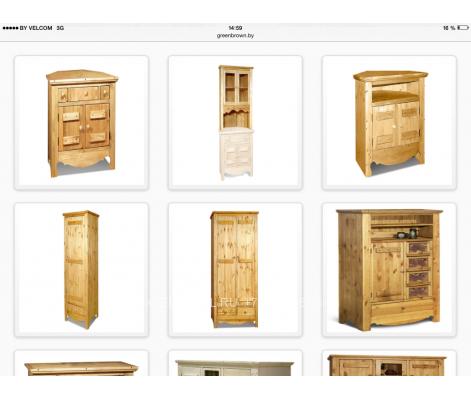 Мебель для кафе из массива 0107