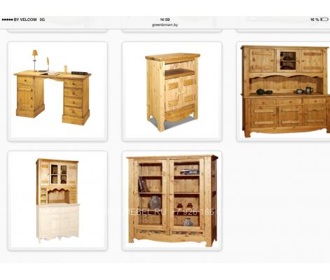 Мебель для кафе из массива 0109