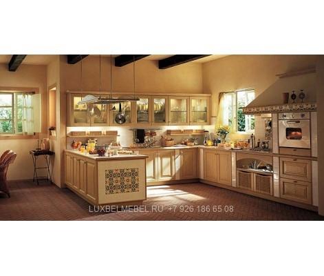 Кухня Кантри на заказ от производителя - фабрика ЛюксБелМебель